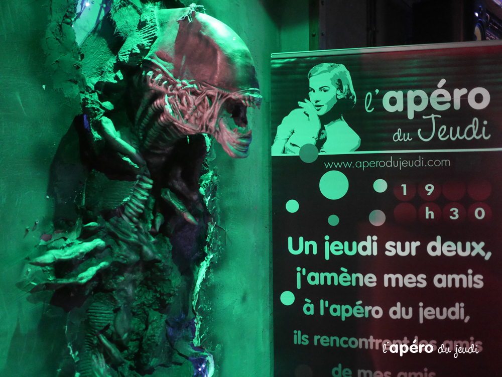 apéro au Meltdown Paris