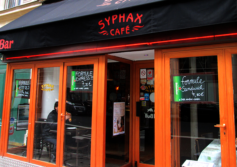 Bar Le Syphax on s'y plait… un max