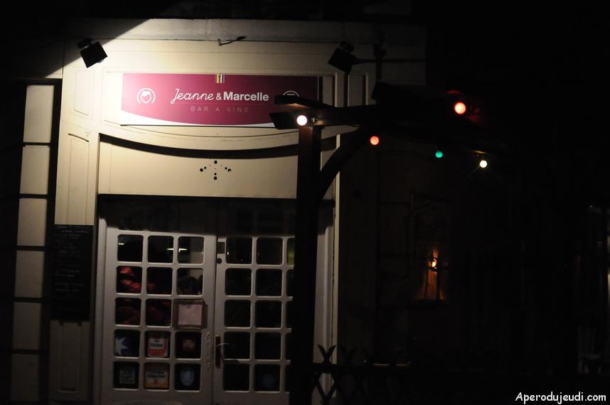 Chez Jeanne et Marcelle, excellent bar à vin !
