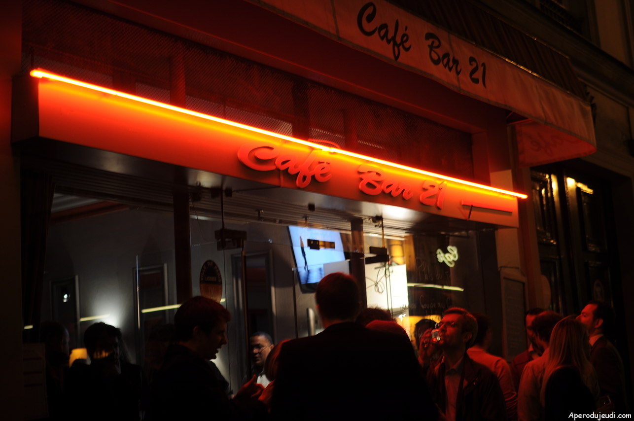 Le Bar 21 : un label Apéro du Jeudi de plus !