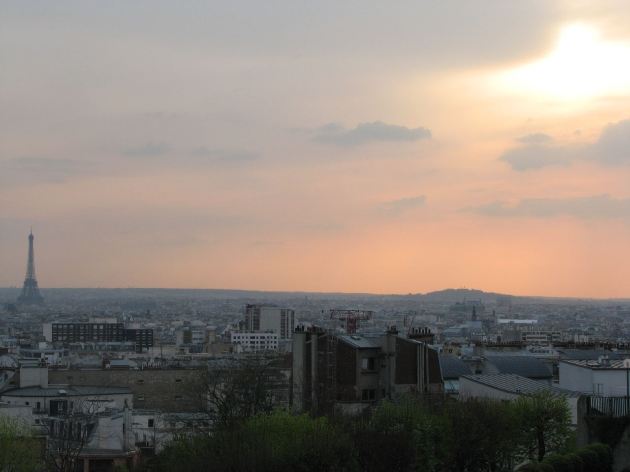 panorama Paris Belleville
