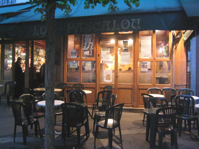 terrasse Lou Pascalou à Paris