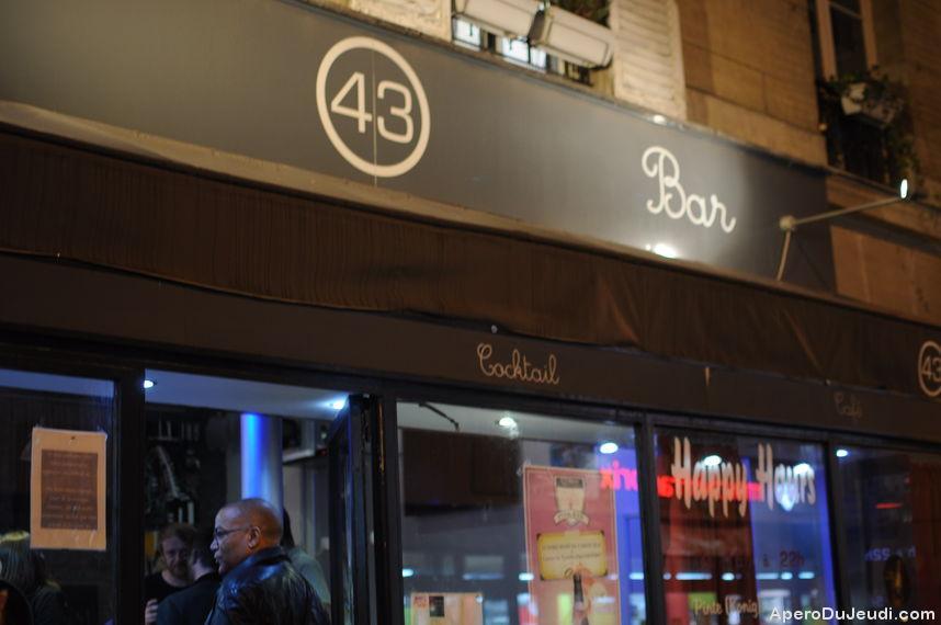 Le 43, le bon petit bar de quartier du 12ème