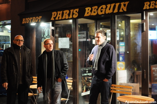 Petit apéro au Paris Beugin