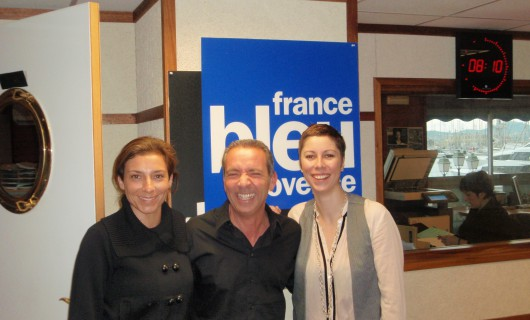 Interview en live sur France Bleu Provence