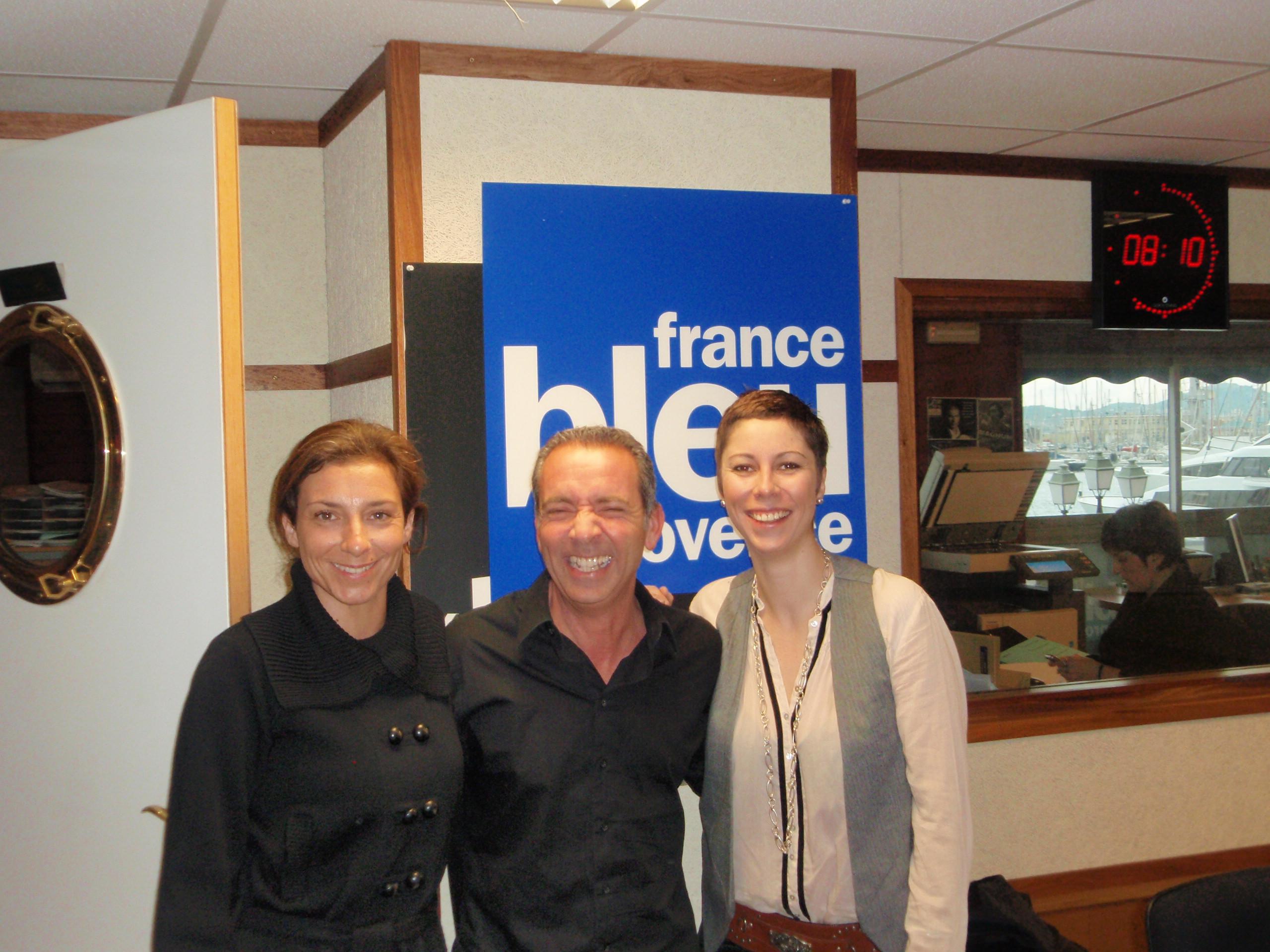 Interview en live sur France Bleu Provence