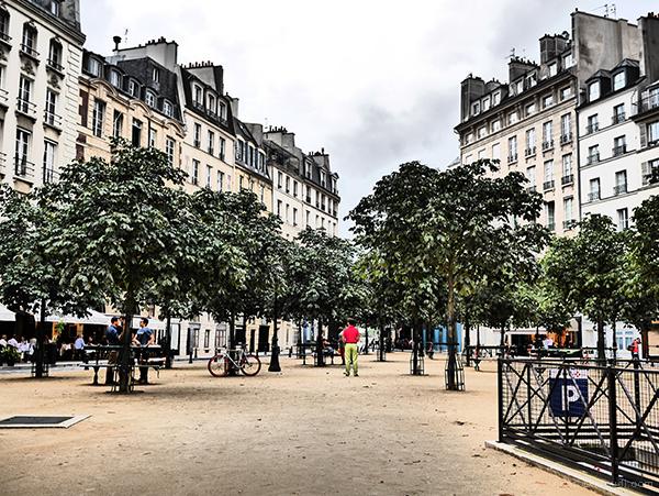 Apéro Place Dauphine : pas de pluie et de bien jolis sourires