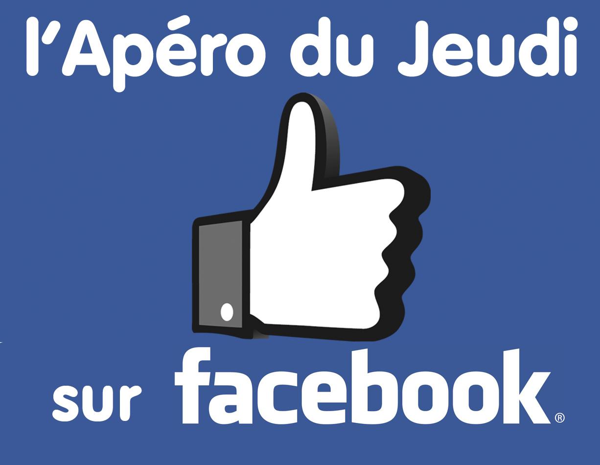 L'Apéro du Jeudi a une page facebook officielle… soyez fan !