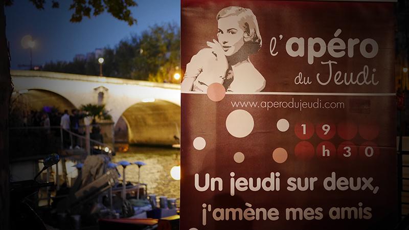Une soirée d'été en septembre pour l'Apéro !