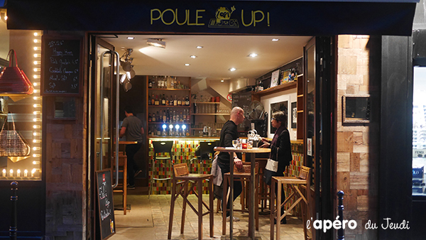Le Poule Up : le petit bar du quartier du Louvre à ne pas louper
