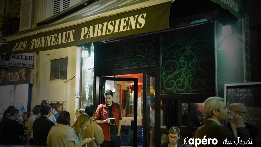 Un apéro fiesta aux Tonneaux Parisiens