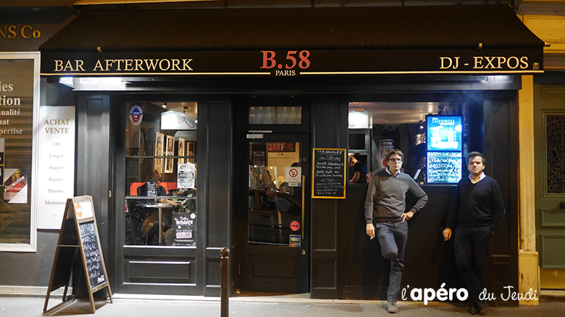bar à privatiser à Paris : le 58