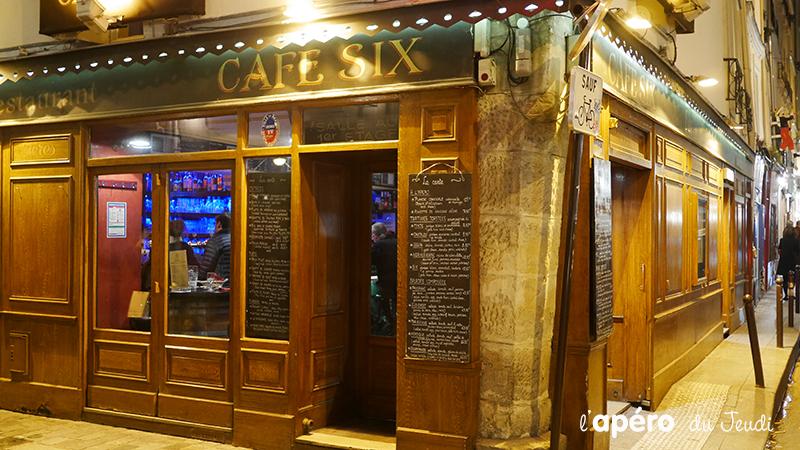 L'apéro tout confort au Café Six
