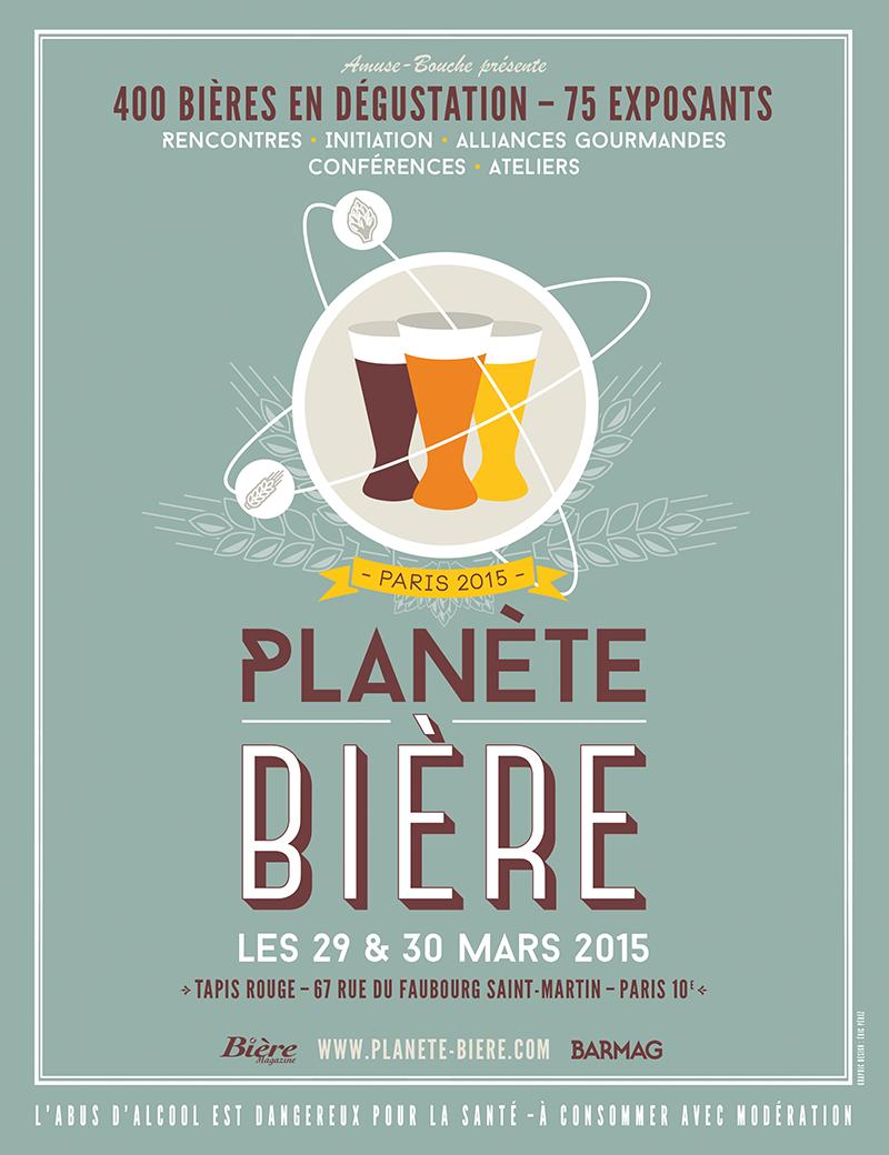 La salon de la mousse à Paris : Planète Bière !