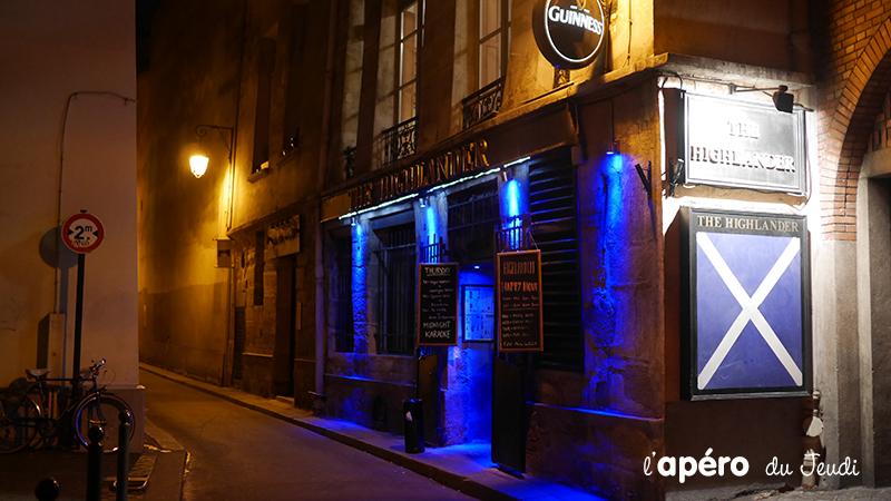 Highlander Pub, l'Ecosse en pinte