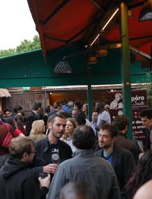 terrasse du Café Oz à Denfert-Rochereau