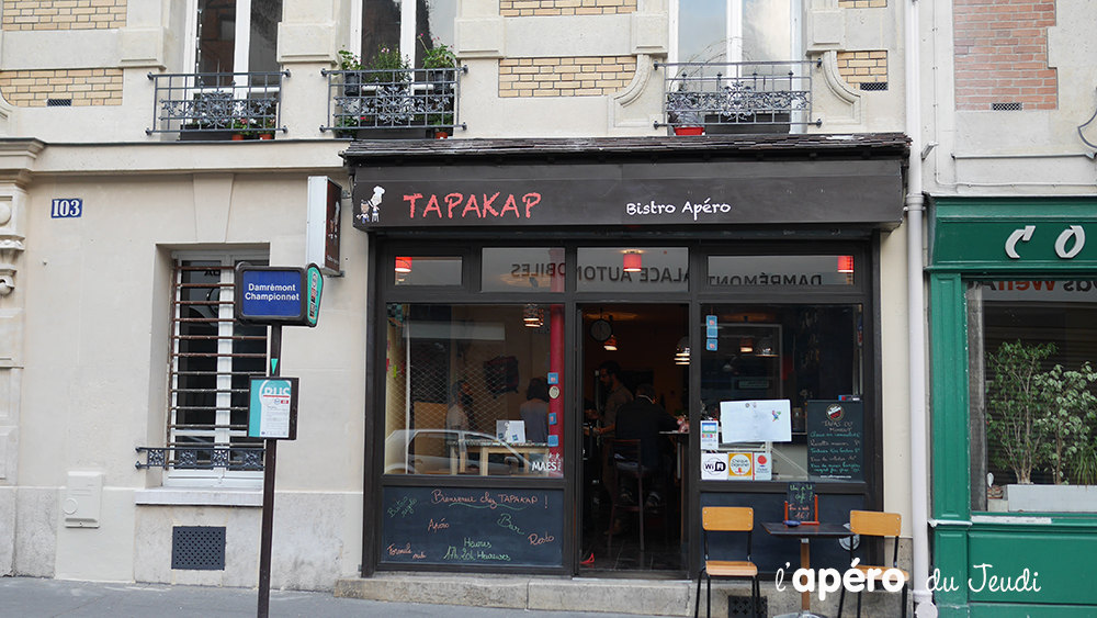 bar à privatiser Paris : le Tapakap