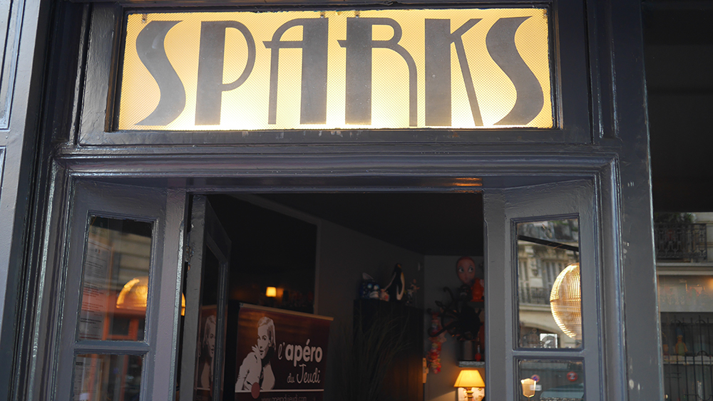 bar Sparks à Paris
