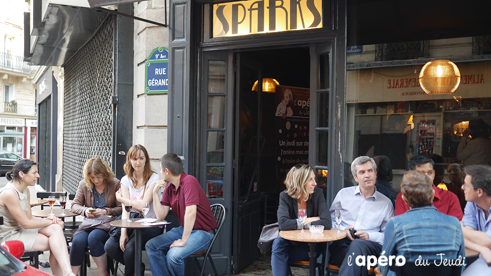 bar à privatiser à Paris : le Sparks