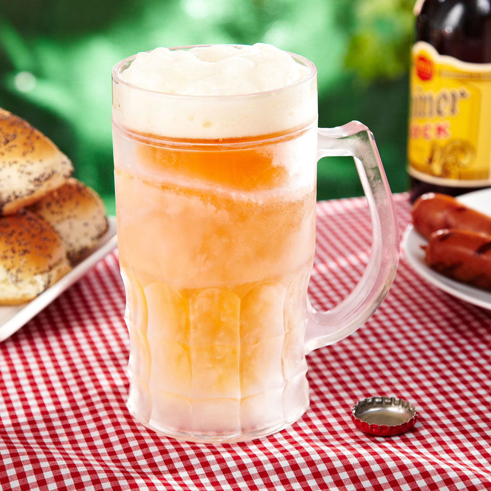 pinte de bière fraiche