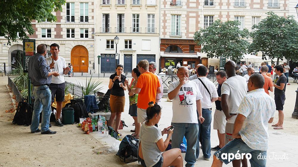 La tendance de l'apérue à Paris