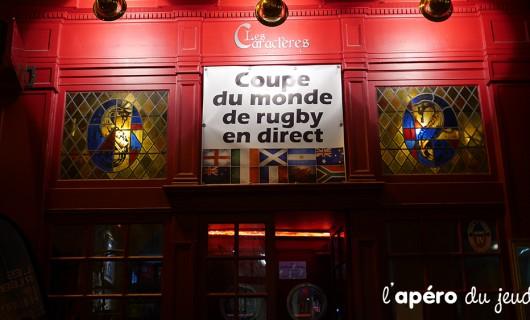 Le top des bars rugby à Paris