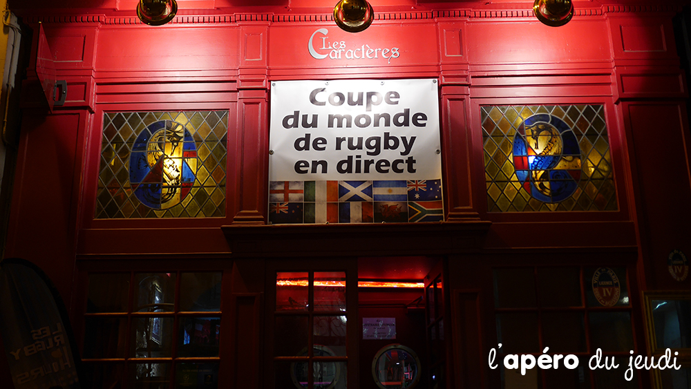 Le top des bars rugby à Paris