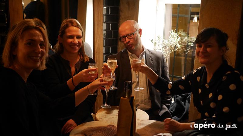 Champagne et Houmous au Dacouar