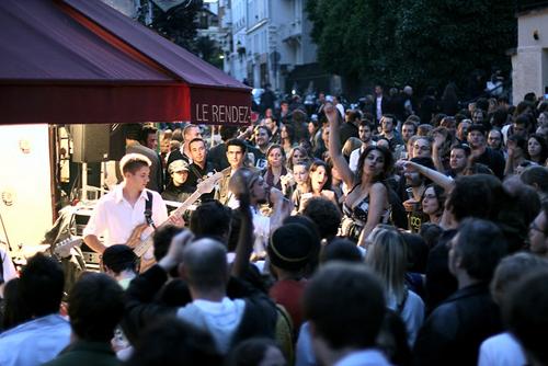 Top bar pour la fête de la musique 2016 à Paris