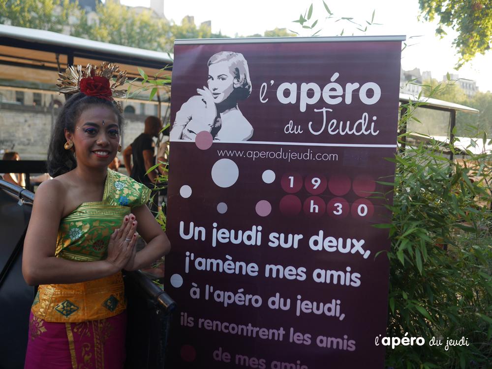 Prendre l'Apéro en Indonésie… à Paris