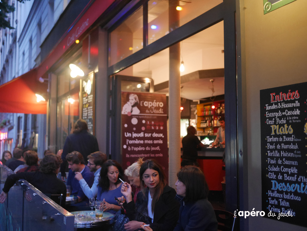 bar à privatiser Paris : le café Custine