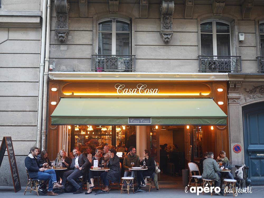 Casa Cosa, l'apéro à l'italienne