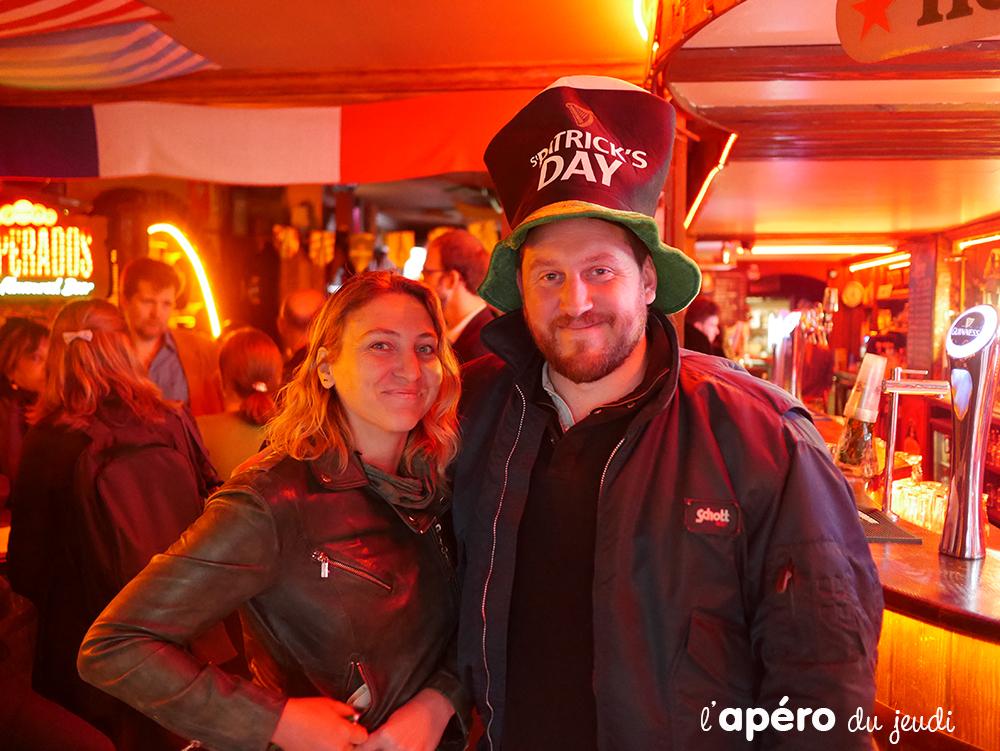 Notre Apéro irlandais au pub Edward and Sons