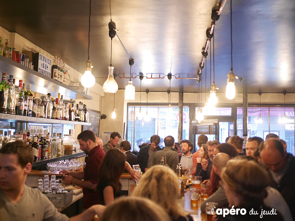 bar à privatiser Paris : le comptoir des Batignolles