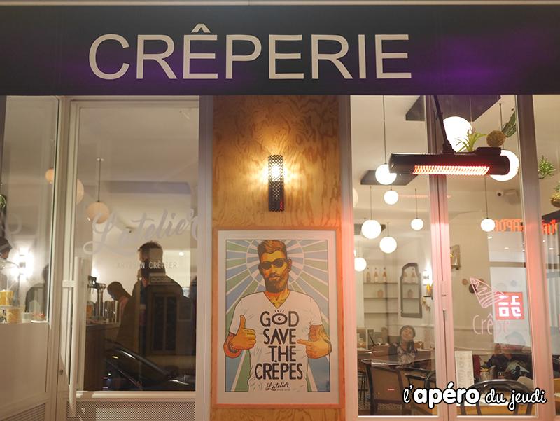 Osez l'apéro crêpes et cocktails cidre à l'Atelier Crêpes !