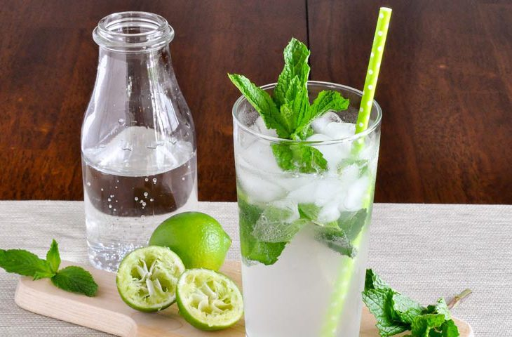set à cocktail mojito