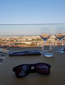 terrasse restaurant tête d'oie Lyon