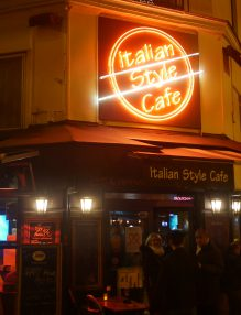 l'apéro à l'Italian Style Café