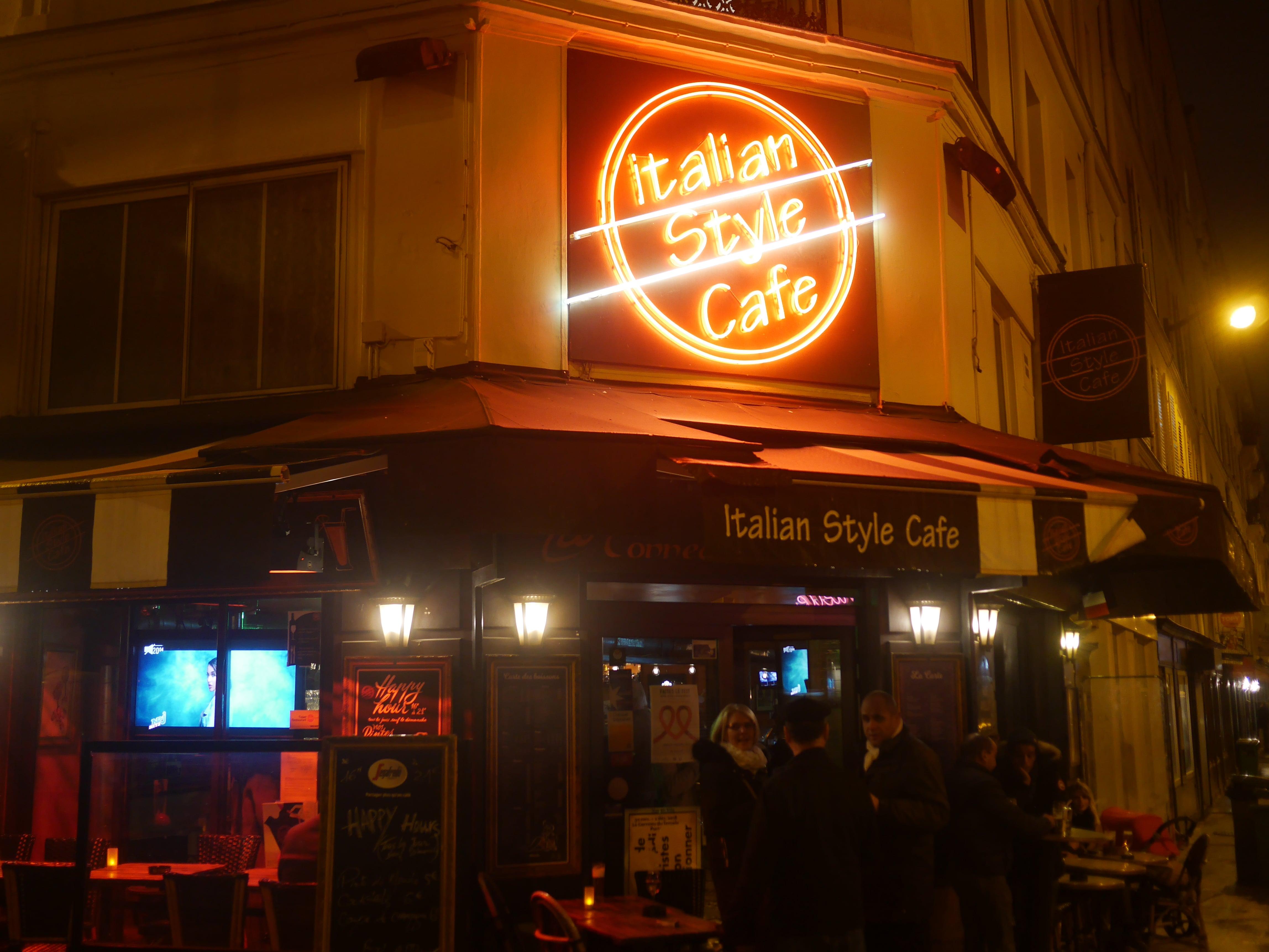 Un apéro à l'Italian Style Café dans le 11ème