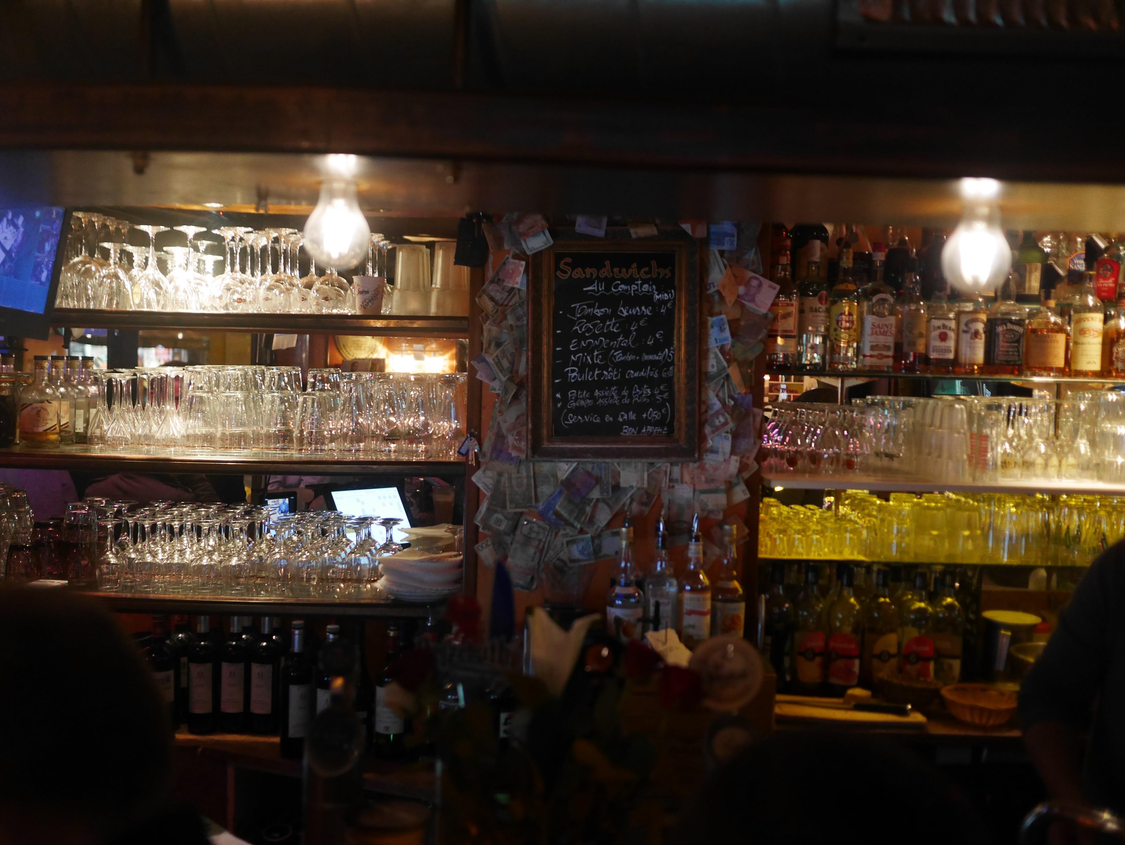 apéro à l'Italian Style Café