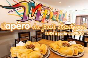 Apéro Nouvel An Chilien & streetfood @ El Urbano Mpanada