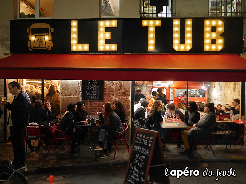 resto le tub à Paris