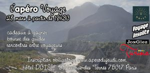 Apéro Voyage #11 @ Hôtel Doisy