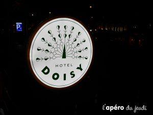 apéro hotel Doisy à Paris