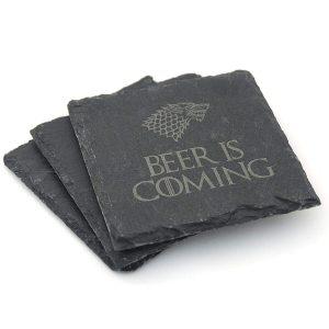 sous-verre Game of Thrones pour la bière