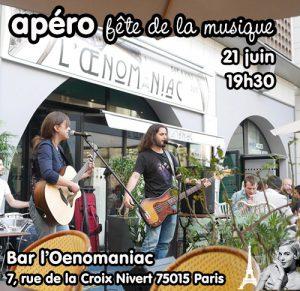 Apéro Fête de la Musique @ Oenomaniac