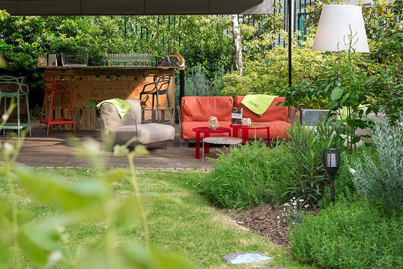 apéro jardin dans Paris