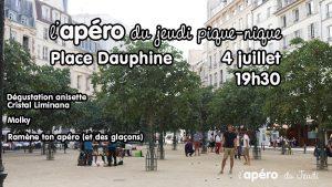 Apéro Pique-Nique Place Dauphine