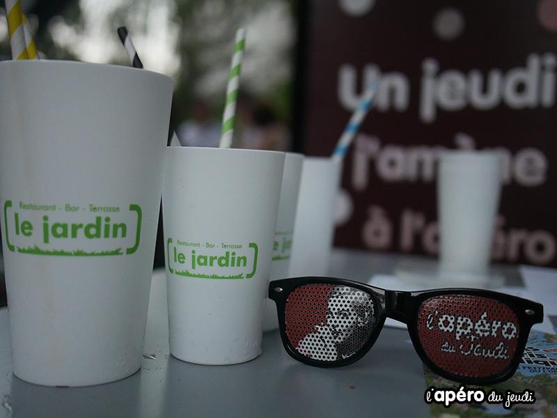 apéro le Jardin paris