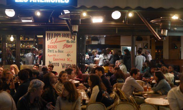 Les Anémones : happy hour jusqu'à minuit, cuisine jusqu'à 4h !